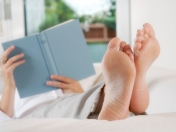Entspannung beim Lesen